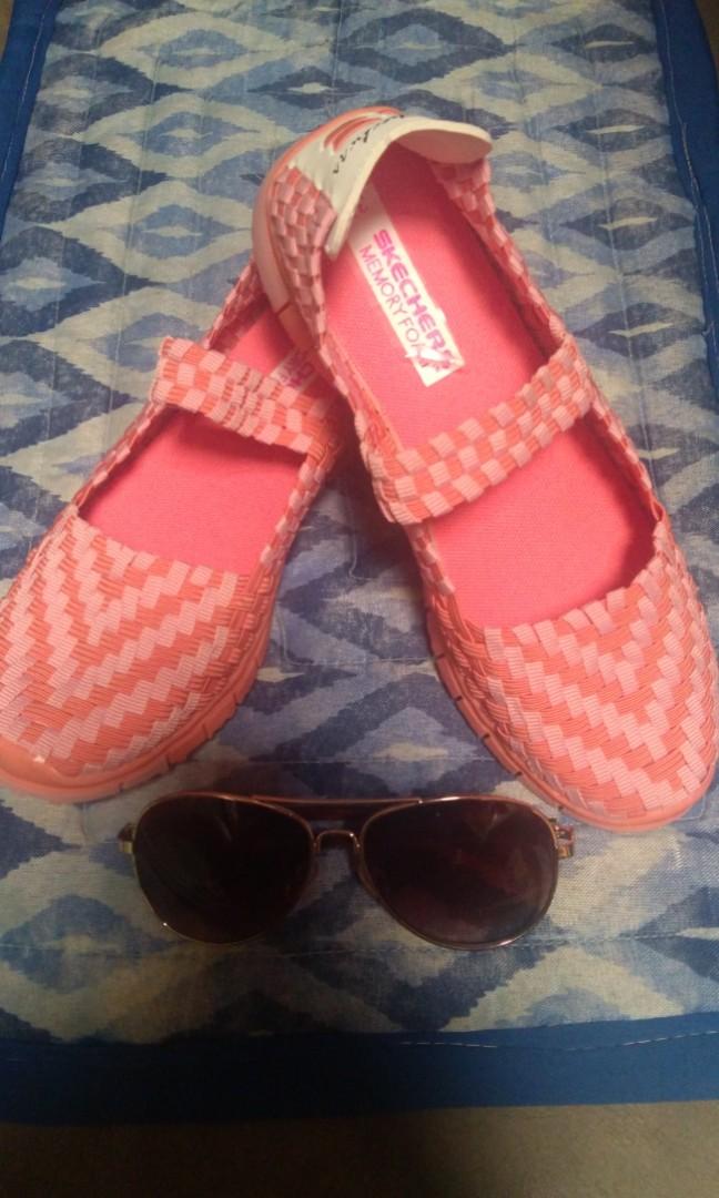 Extinto Autor maíz  Skechers Replica Memory Foam, Women's Fashion, Shoes, Sneakers on Carousell