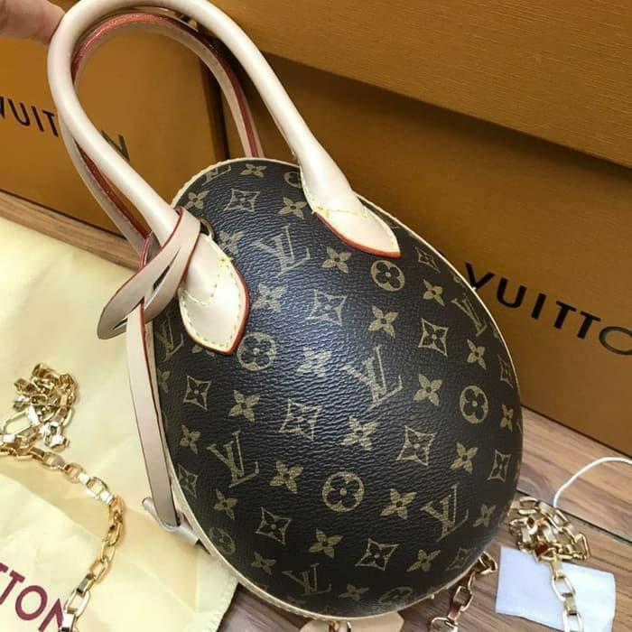 Tas Louis Vuitton lv egg monogram colour import semi premium #joinagustus