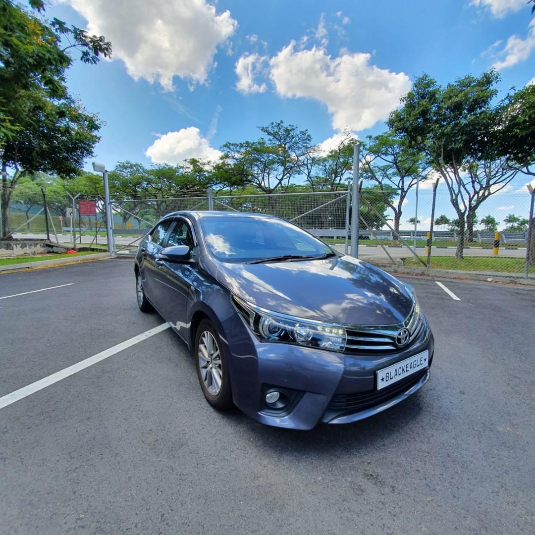 Toyota Altis (new) year 2014 (Grab/gojek) rental
