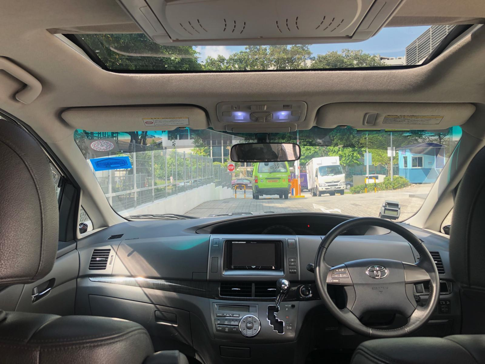 Toyota Estima Super cheap rental for Grab GoJek Ryde or Personal use