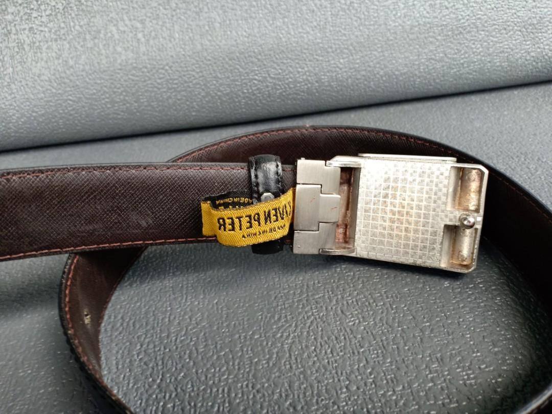 Versace Lighter buckle belt