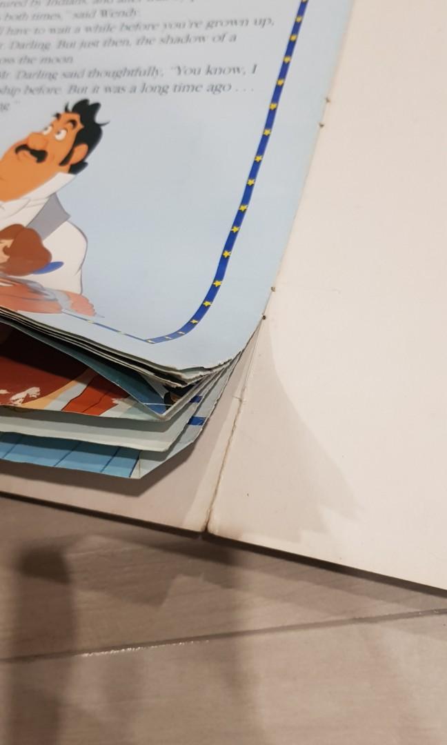 Walt Disney Treasure Chest 4 big books Bambi, Peter Pan, The Jungle Book, The Little Mermaid