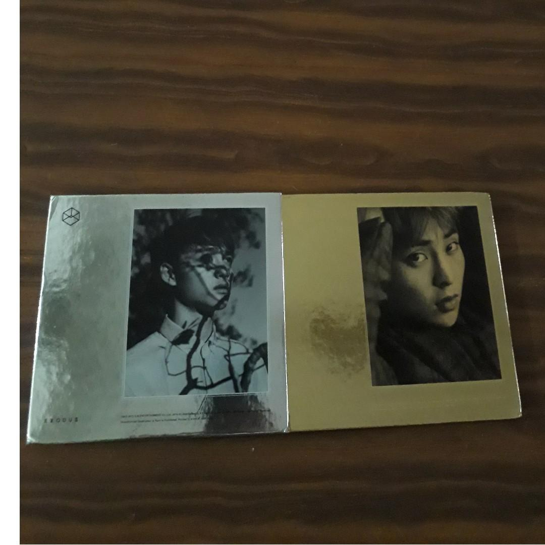 wtt or wts exo do & xiumin cover exodus kor & chi to chanyeol