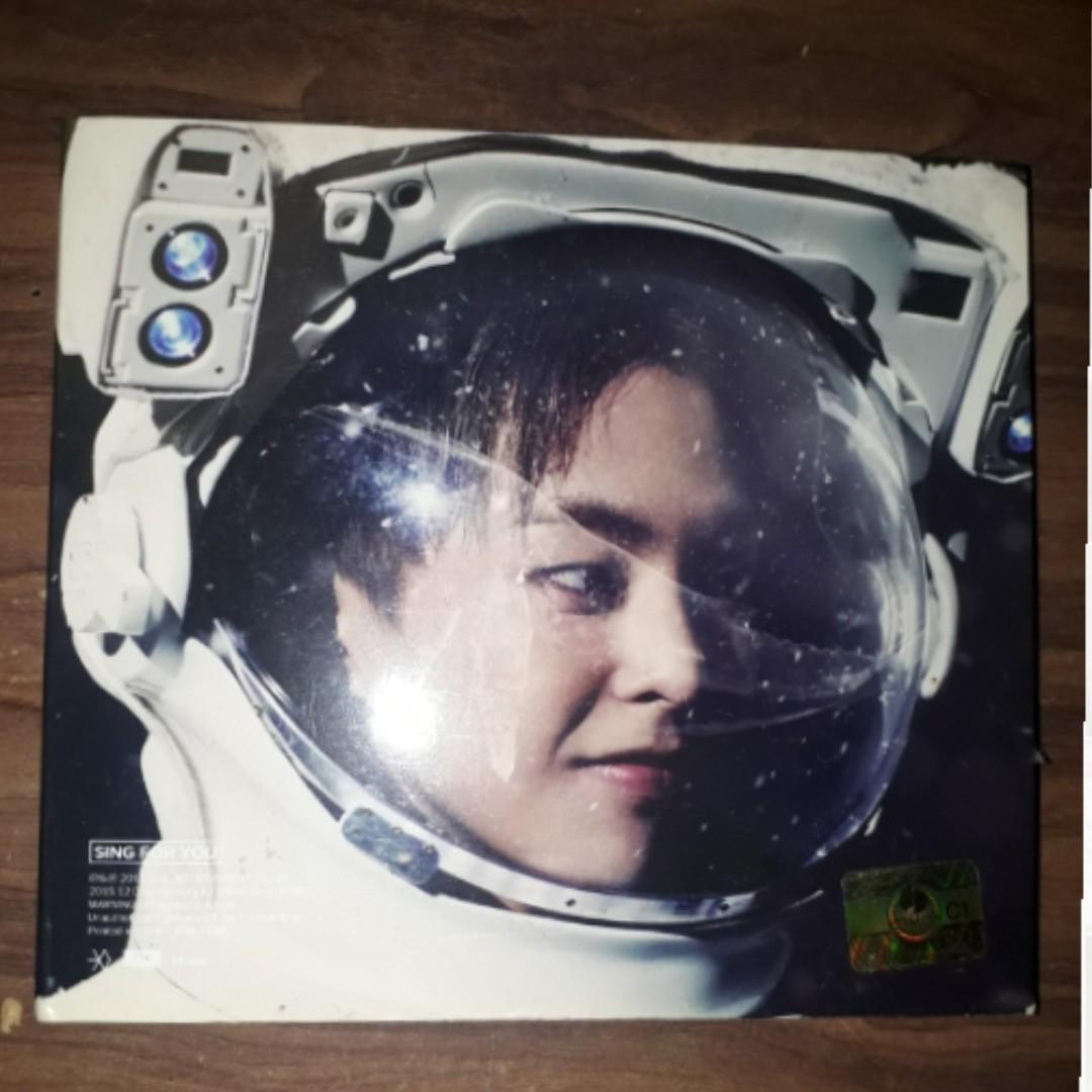 wtt or wts exo sing for you cover xiumin album to chanyeol