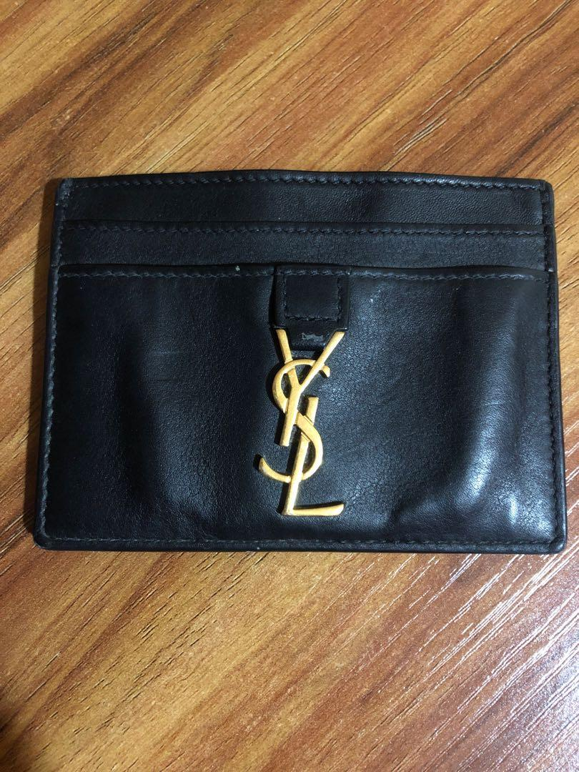 4de5c067 YSL Card Holder, Luxury, Bags & Wallets, Wallets on Carousell