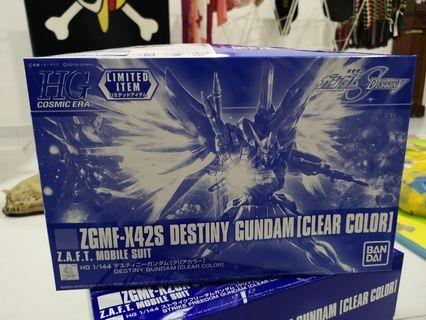 HGCE 1/144 Destiny Gundam - Clear Color