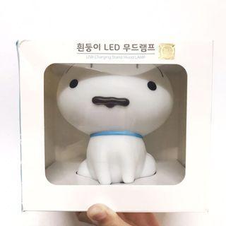 韓國聯名蠟筆小新 小白拍拍燈 夜燈 #