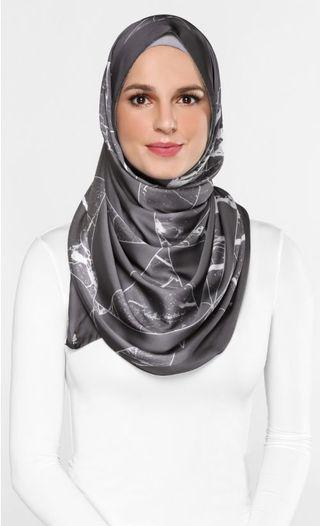 Authentic Marble Duck Scarf in Arctic