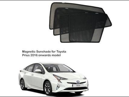 2017 Prius S 1.8 Hybrid Magnetic Shades