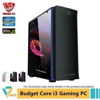 Core i3 GTX750TI gaming PC 8GB RAM 240GB SSD for Apex Batterfield CSGO Dota 2 Fifa Fortnite GTA PUBG Legend LOL 2 vdgpc