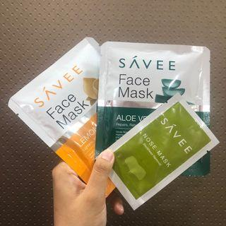 SÁVEE Face Mask Set (+ Nose Mask)