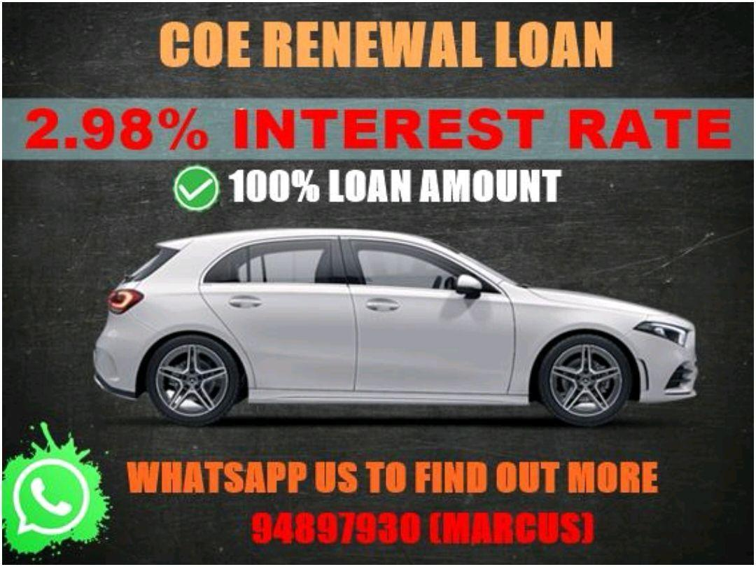 100% COE RENEWAL LOAN SURE APPROVE