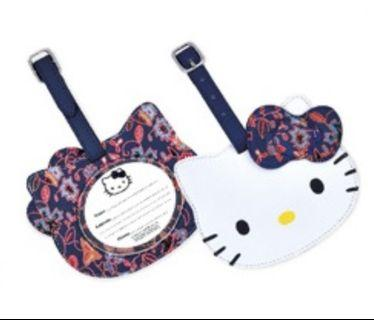 Hello Kitty Singapore Airline (SQ) Luggage Tag