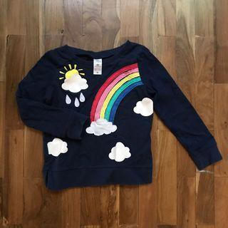 Carter's rainbow 3-4T