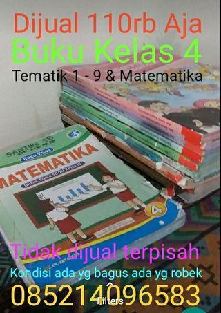 Buku Kelas IV SD / 4 SD TEMATIK