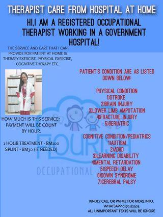 TREATMENT CARE AT HOME (THERAPIST)