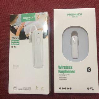 #諾米迪N-Y1藍牙耳機 單耳式藍牙耳機(白色)