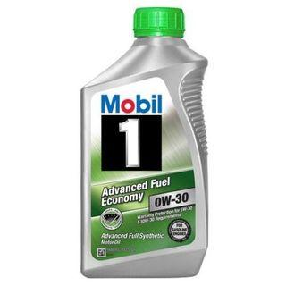 Mobil 1 0w-30 Advance Fuel Economy Engine Oil.