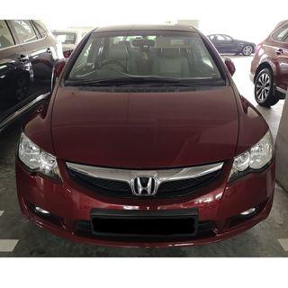 🚗 Honda Civic 1.8A (Gojek Rebate!!) 🚗