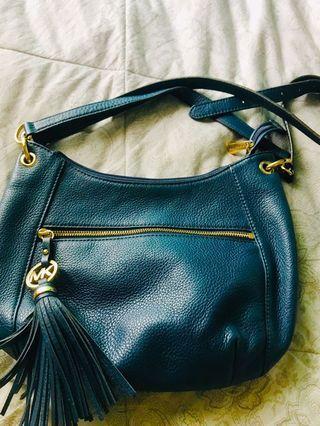 Michael Kors Navy Blue Sling Bag(original)