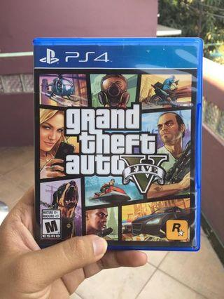 BD PS4 Grand Theft Auto V (GTA V)