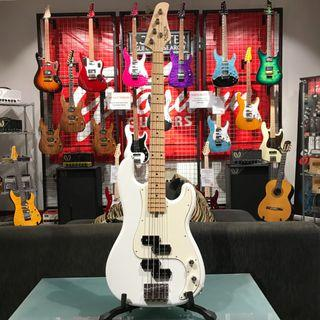 BRAND NEW SCHECTER JAPAN BASS PA-HK/PP-X SWH SNOW WHITE