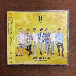BTS Lights/Boy With Luv Album (Type A)
