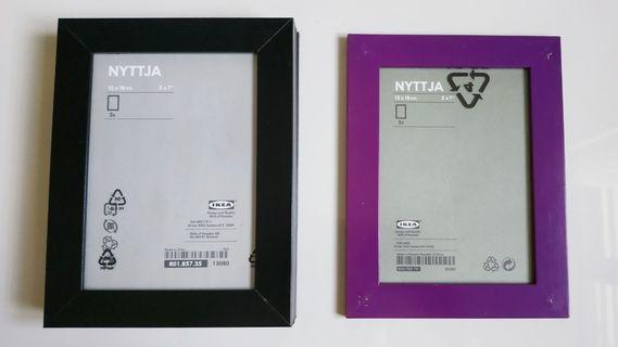 IKEA NYTTJA Photo Frame 5 pcs (13 X 18 cm)