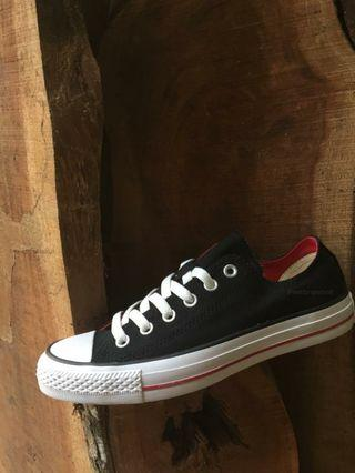 Converse CT OX Double Tongue Black White