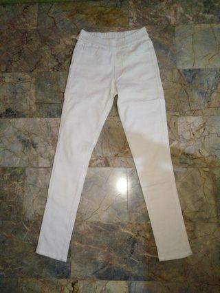 Celana Legging Putih