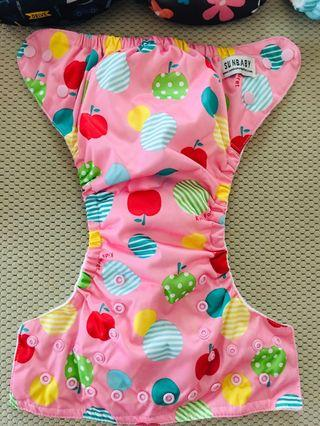 Sunbaby cloth diapers 4.0 size 2