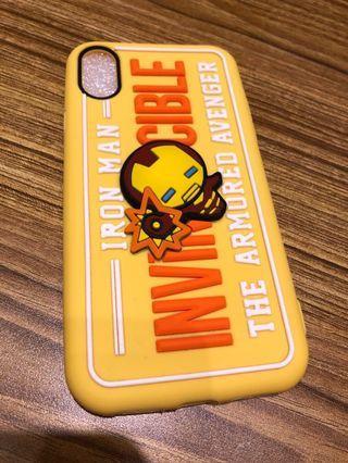 Case iphone X, Xs 3D iron man