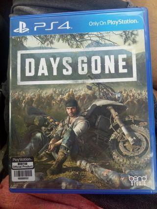 PS4 Days Gone with DLC [FREE POSTAGE]