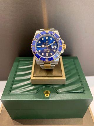 Rolex 116613LB Submariner Blue Dial