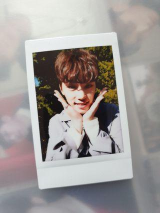 Seventeen Dino Japan Premium Movie Polaroid