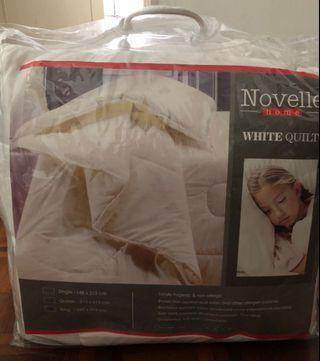 (NEW) Novelle King Size Quilt