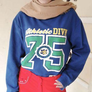 Sweater Navy Made in Korea NETT