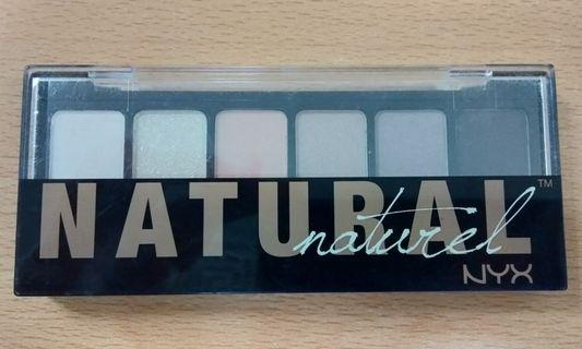 NYX Eyeshadow Palette Natural Exp.2022