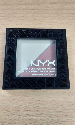 NYX Cheek Contour Duo Palette Exp.2022
