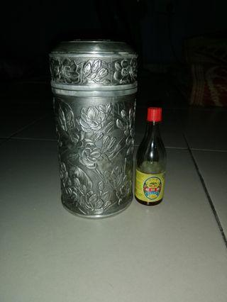 Tumasek tea caddy(temasek pewter)