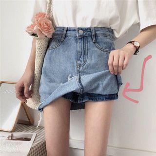 韓版牛仔褲裙