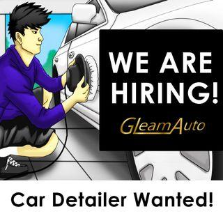 Car Groomers wanted!!