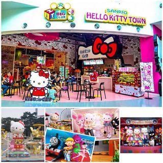 Sanrio Hello Kitty Town Thomas and Friends