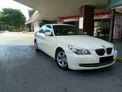 BMW520 White Knight