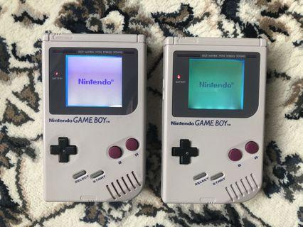 GameBoy DMG with Backlight and Bivert Chip