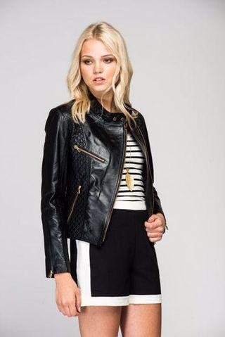 Deda Leather Jacket size UK8