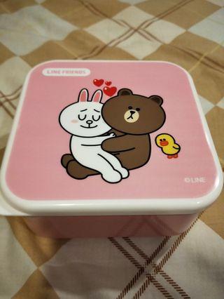 熊大兔兔微波便當盒