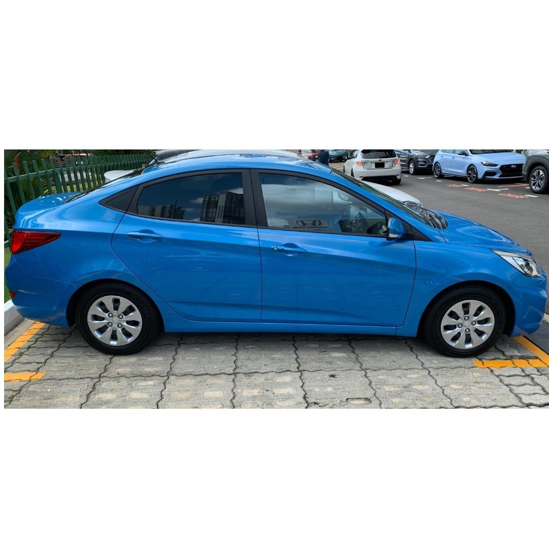 $38/day NEW hyundai Accent after rebate!