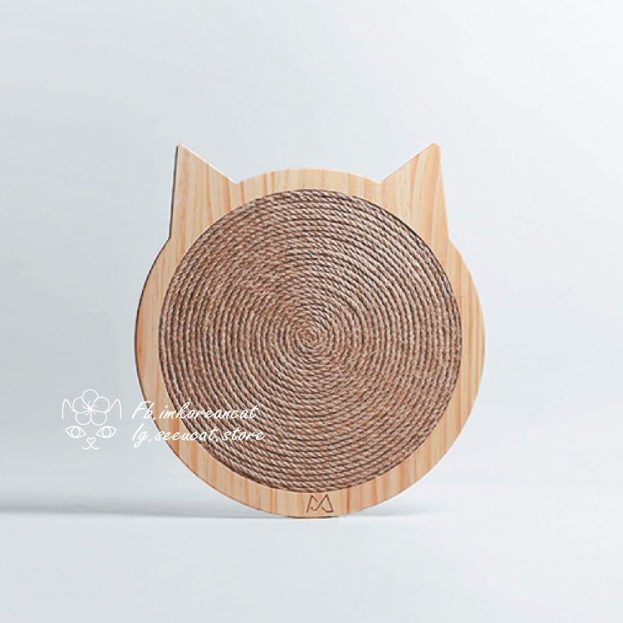 🎏實木耐磨貼牆貓抓板🐈