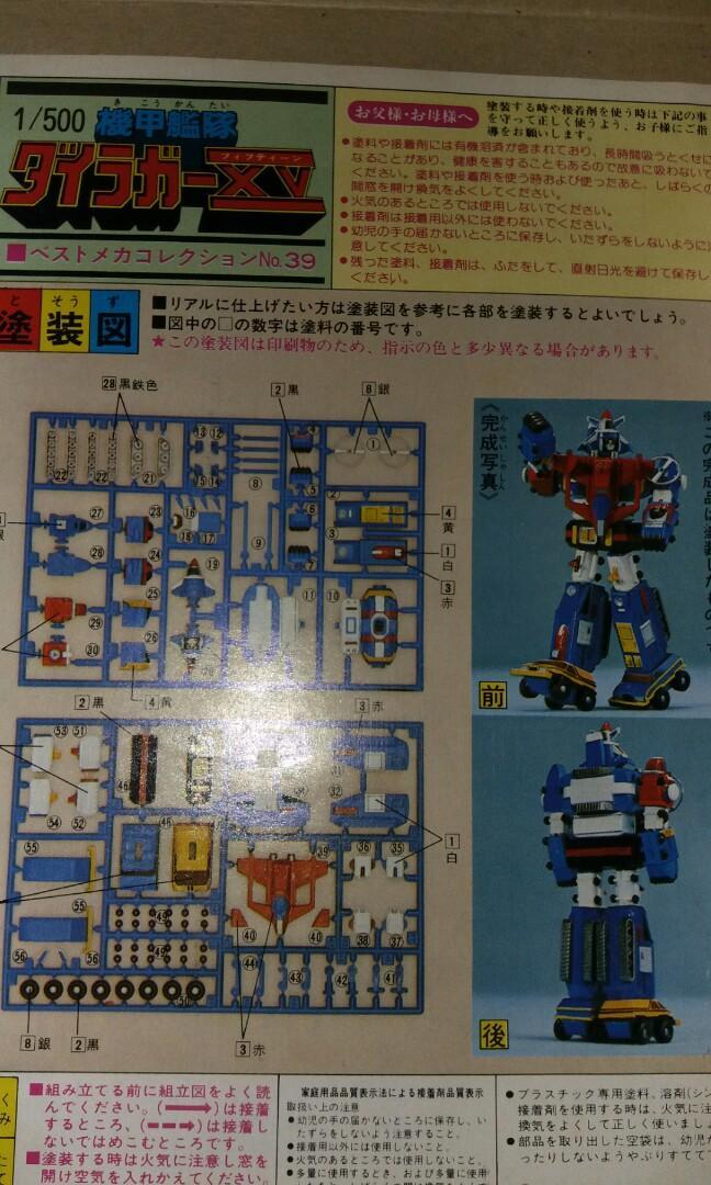 機甲艦險模型(未開封貨品)